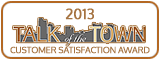 Talk of the Town Customer Satisfaction Award